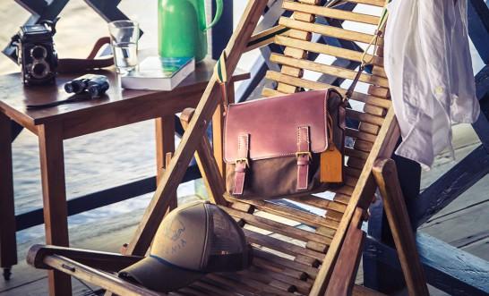 土屋鞄xトランジット トラベラーズショルダー