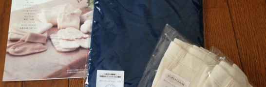 天然灰汁発酵建て本藍染めのTシャツ