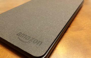 [1160-201601] Amazon fireタブレット純正カバー到着。これは推奨ではなく必須アクセサリです。