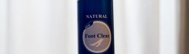 靴の消臭パウダー フットクリア(Foot Clear)
