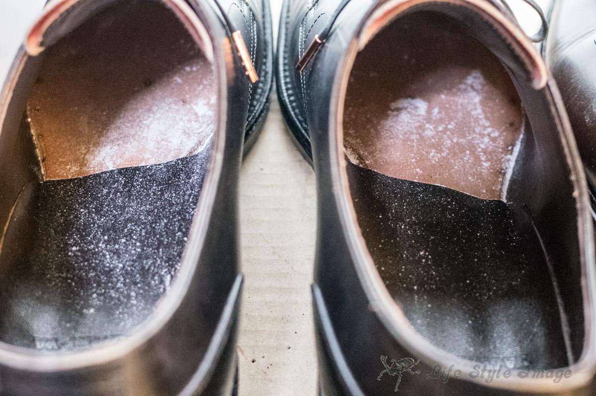 和創良靴 靴の中