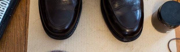 今回私が靴磨きで使ったモノ