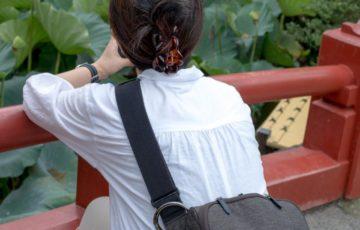 先日の鎌倉での妻の後ろ姿