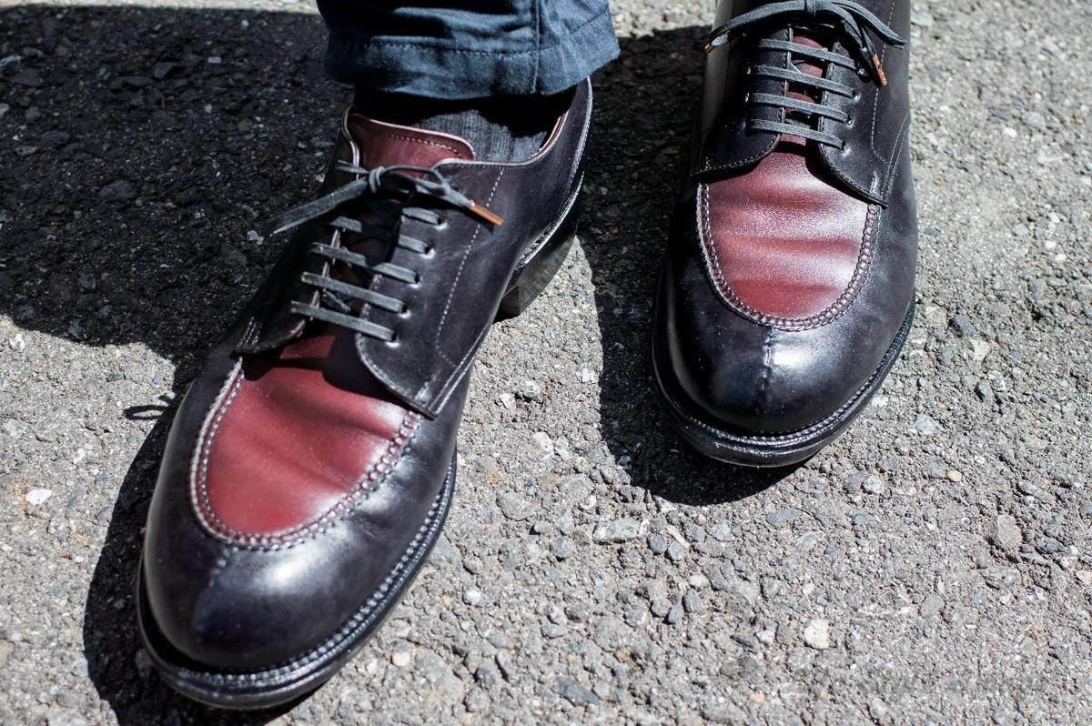 和創良靴 Uチップ