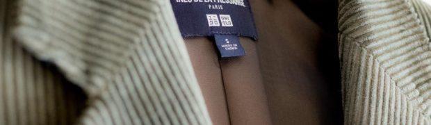 UNIQLO x INES DE LA FRESSANGE コーデュロイジャケット+E
