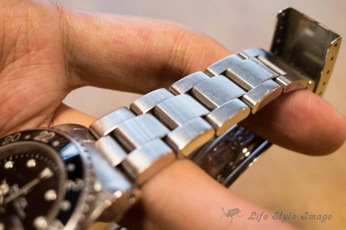 吉竹さんの時計のブレス