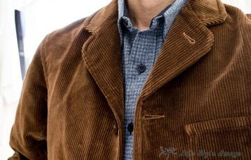 "Old Town Clothing ""Marshalsea"" Lined in Tan Corduroy"