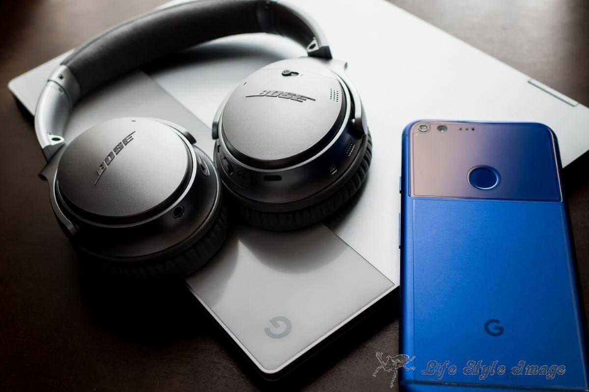QC35ⅡとPixel XL、Pixelbook